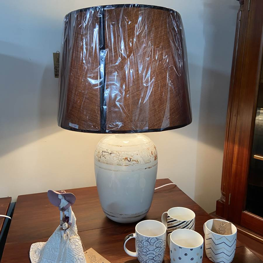 You are currently viewing Marble Twirl Lamp $99 (was $175)