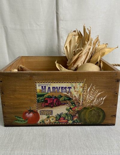 Harvest Timber Crate