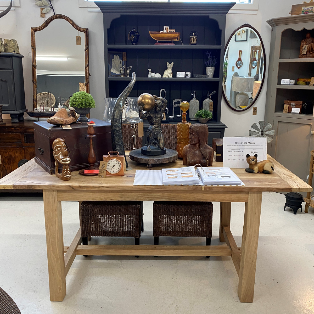 French furniture shop Central Coast