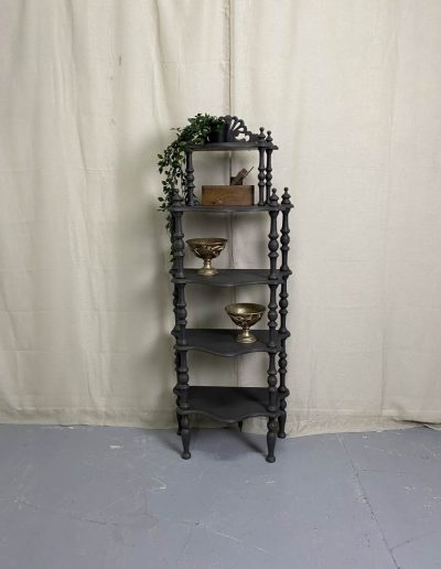 Painted Victorian Display Shelves