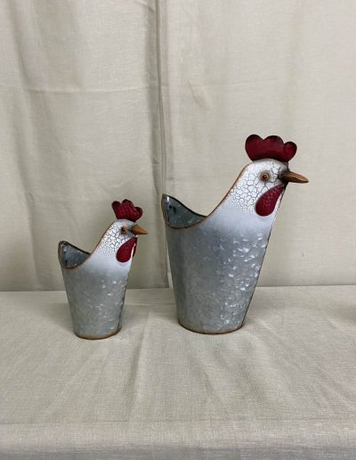 Rooster Planters